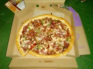 pizza blackpeper