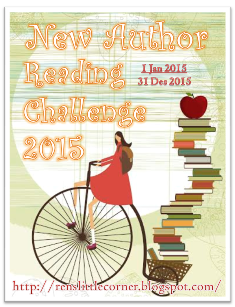 New Author Reading Challenge 2015